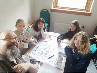 Our consultation identified a gap in drama provision in the Hillfoots for young people